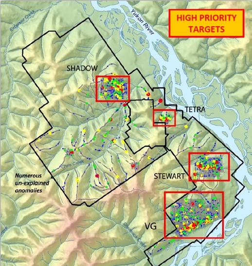 Comstock Metals Ltd.: High Priority Targets