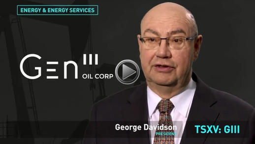 YouTube - TMX Group: GEN III Oil Corporation - 2018 Venture 50