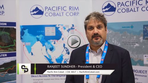 YouTube - StockPulse: Drilling Down on Pacific Rim Cobalt, with Ranjeet Sundher at the 2018 PDAC in Toronto