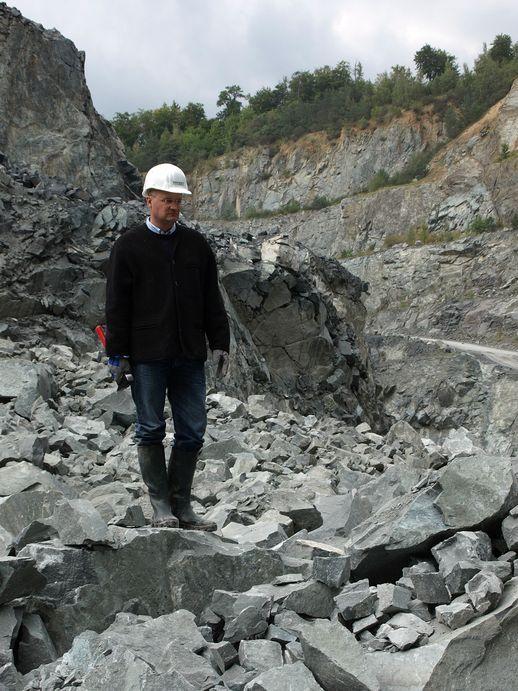 Almonty Industries Inc.: Dr. Gutschlag - CEO Deutsche Rohstoff AG (DRAG) - Site Visit