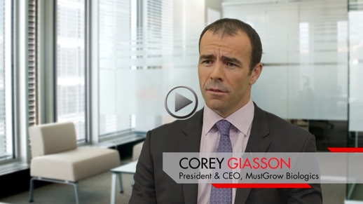 YouTube - Business Television: CEO Clip: Corey Giasson | MustGrow Biologics | Biological Solutions for Growers